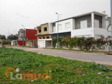 terrains de 458M2 a bouskoura zone villa