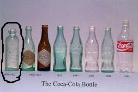 bouteille de coca cola 1891