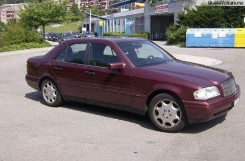 voiture marcedes 1