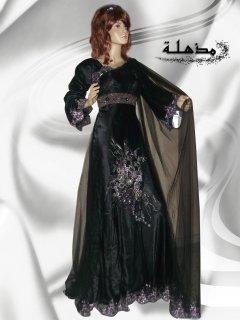 فستان تصميم خليجي