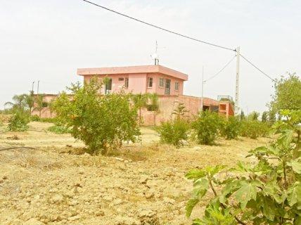 مزرعة مجهزة مساحتها 8 هكتارات بضواحي مدينة الرباط