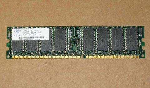Ram NANYA 256MB DDR - 400MHz - CL3 PC3200U - 30330