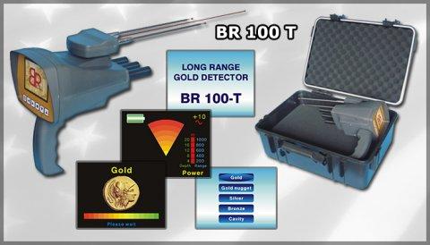 افضل  الاجهزة الاستشعارية للكشف عن الذهب BR 100-T