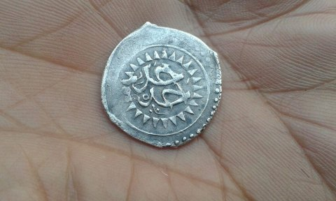 قطعة نقدية فضية قديمة تعود لسنة 1188م