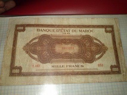 1000,franc de maroc