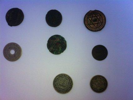 نقود مغربية قديمة للبيع تعود لسنة لاكثر من 300 سنة