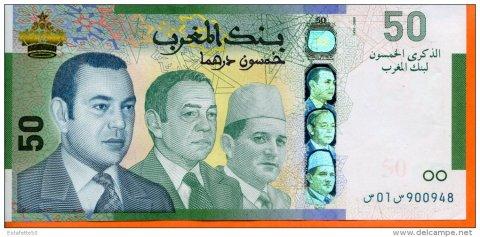 50 dh trois roi