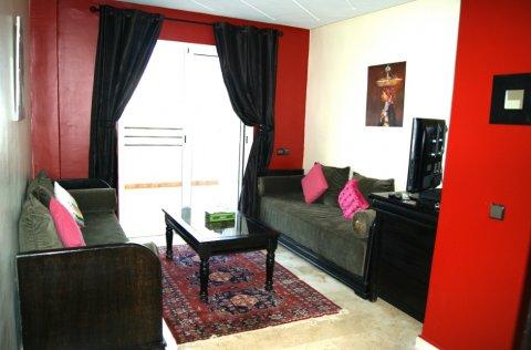 شقة للإيجار قصير المدى بالمعاريف الدار البيضاء
