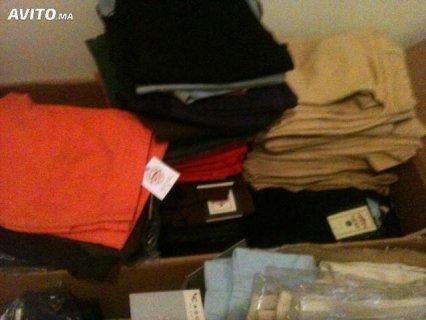 Je met en vendre les vêtements femme et homme