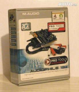 Professional sound card M-audio audiophile 192