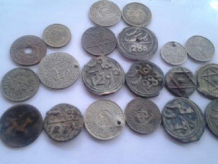 قطع نقدية قديمة جداا