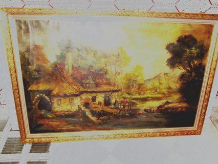 لوحة فنية تاريخية نادرة