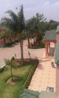 قصر مجهز بالمملكة المغربية