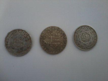 قطع نقدية مغربية قديمة