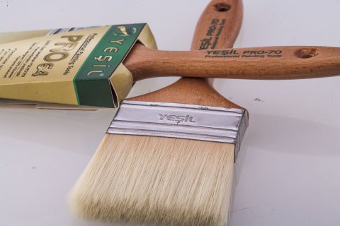 Yesil _ paint brush _ painting tools.