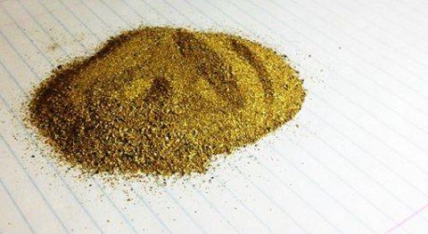 غبار الذهب والذهب أشرطة 50 كجم