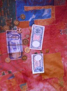 نقود قديمة وأوراق نقدية