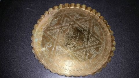 صينية قديمة نجمة السداسية