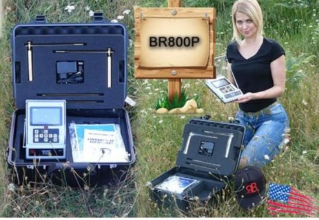 BR800_P  جهاز استشعاري كاشف الذهب والكهوف