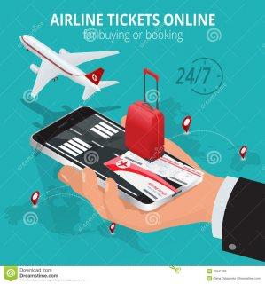 تذكرة سفر  و الفنادق