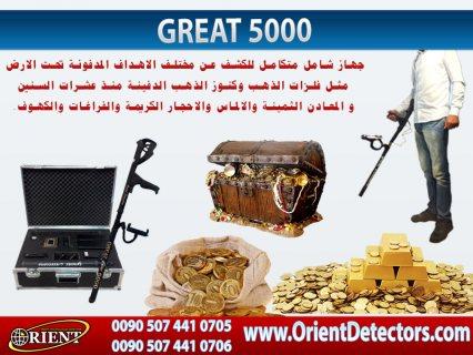 جهاز شامل بستة انظمة للكشف عن الذهب والمعادن الثمينة