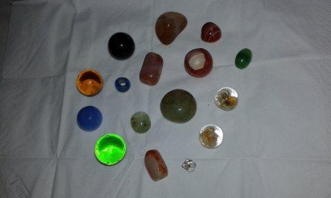 مجموعة من الاحجار