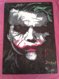لوحة لشخصية Joker
