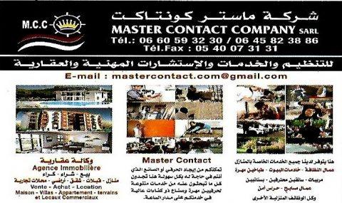 service ménage de master contact company