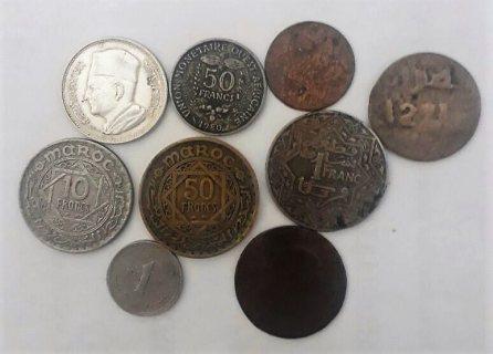 سلام عليكم لدي عدة عملات قديمة معدنية وفضية