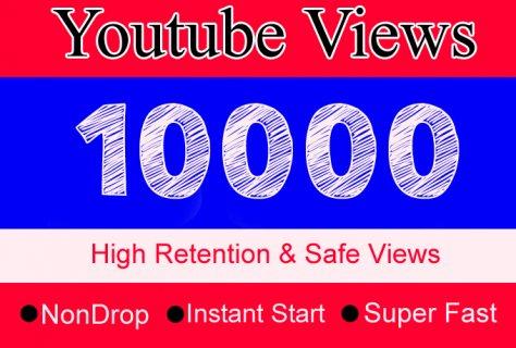 10000مشاهدة مع 100 لايك لقناتك على يوتيوب