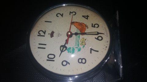 ساعة الدجاجة القديمة الأصلية