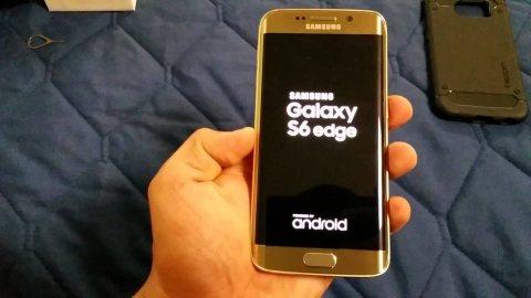 S6 edge gold
