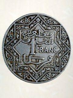 قطعة نقدية 1 فرنك مغربي 1920