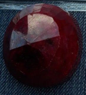 حجر ياقوت احمر وازرق