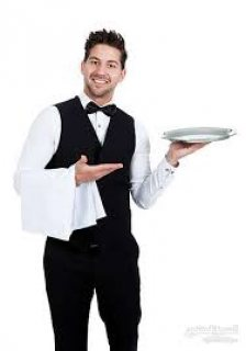 نتوفر على نادلين من الجنسية المغربية خبرة في أكبر الفنادق والمطاعم ولديهم