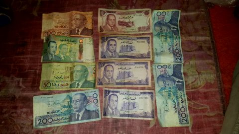 نقود المغرب المبحوث عنها