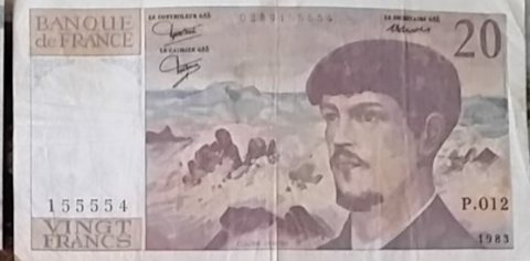 20 فرنك فرنسي  1997