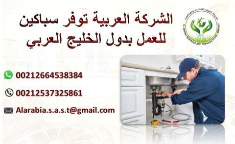 متوفر لدينا من المغرب سباكين صحية دوي خبرة وكفاءة جاهيزين للعمل بدول الخليج