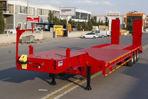 مقطورة نقل معدات