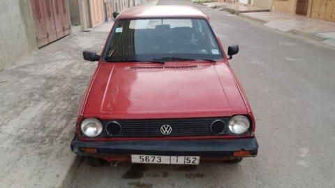 سيارة فولكزفاجن بولو 1987 للبيع بثمن مناسب