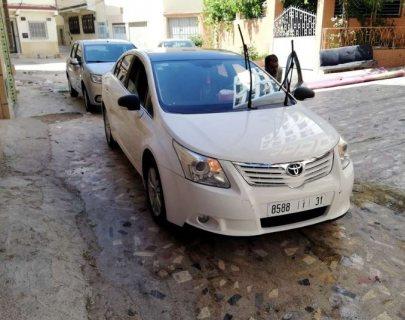 تويوتا افانسيس 2010 جديدة موتور جديد جميع المميزات متوفرة مع مكيف اتوماتيكي