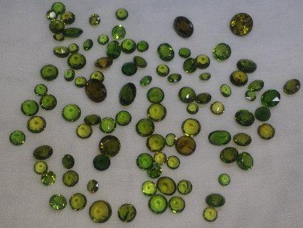 حجر GREEN GARNET