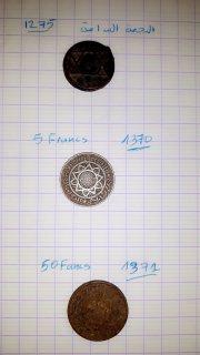 قطعة النجمة النادرة و اخريات من عهد المرينين 1370-1371