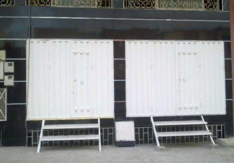 للكراء شقة ,سرداب للمخزون  ومحلات تجارية بسلا الجديدة الرباط المغرب