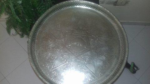 صينية النجمة المغربية ديال الفضة قديمة