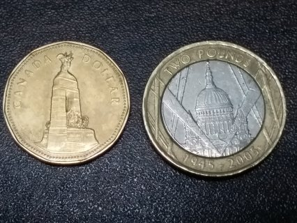 قطع نقدية الانجليزية قديمة