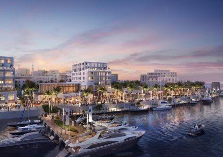 امتلك الان شقتك في وسط مدينة الشارقة على جزيره اطلالة بحر العرب