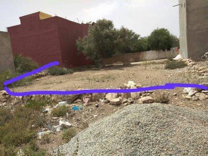 بقعة ارضية للبيع في اقليم الصويرة اوناغة الجعاونة قرب الجامع