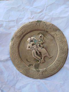 قطعه نحاسية قديمة من اصل يهودي