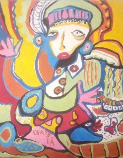 لوحة نادرة للشعيبية